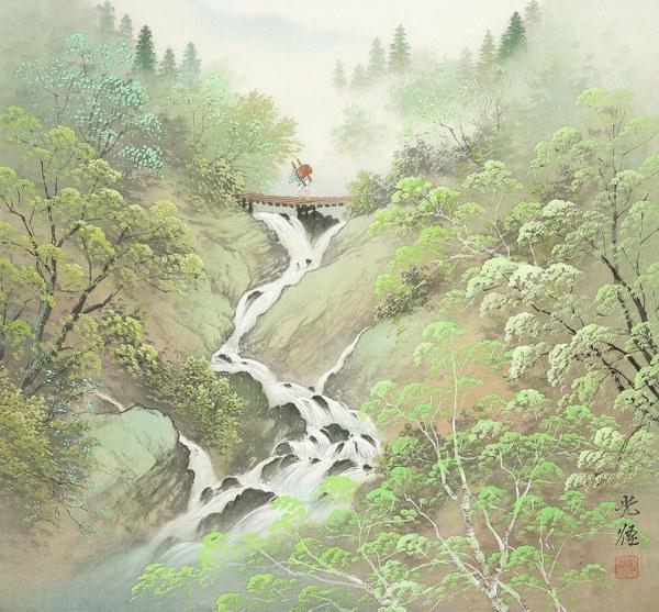 Япония в работах Коукея Кодзимы (28 картин)