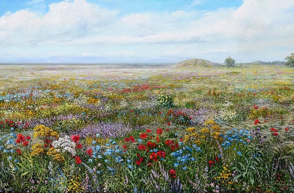 Современный художник Андрей Лях. Пейзажи