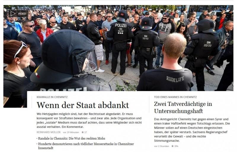 Восточная Германия восстала