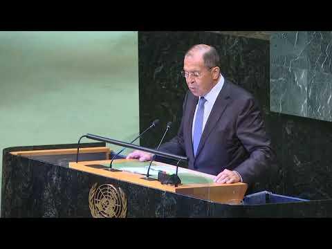 Сергей Лавров в ООН: С-300 уже поступают в Сирию