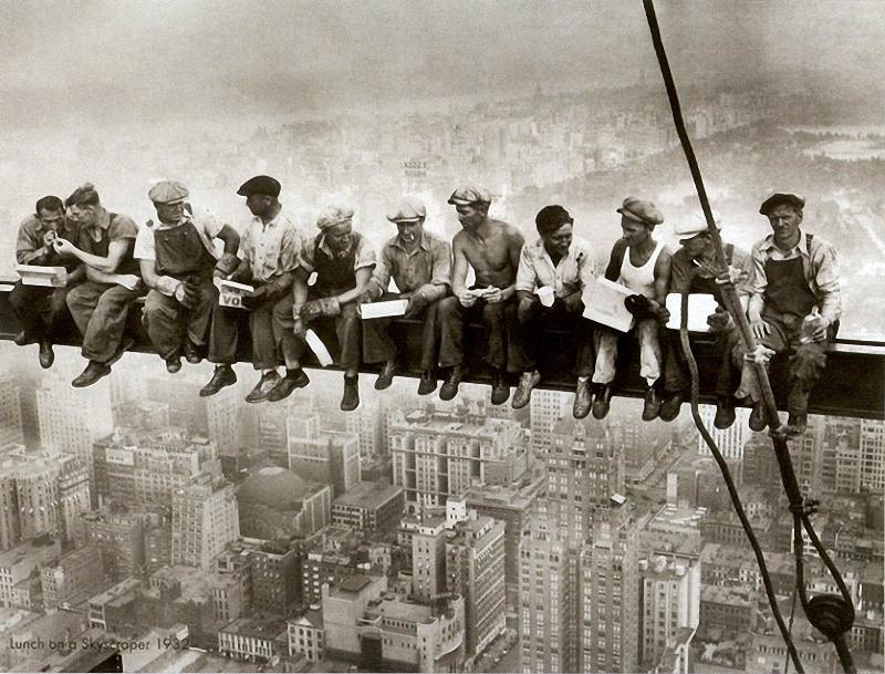 0018 Как строились небоскребы в Нью Йорке