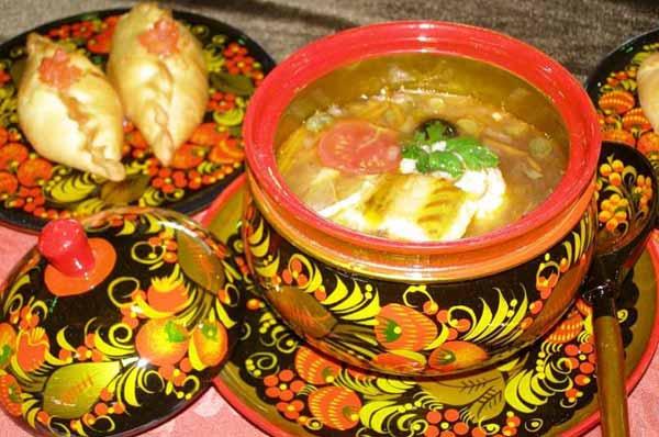 Традиционная русская кухня: …