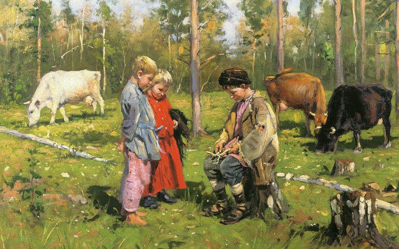 Что умели деревенские мальчишки сто лет назад