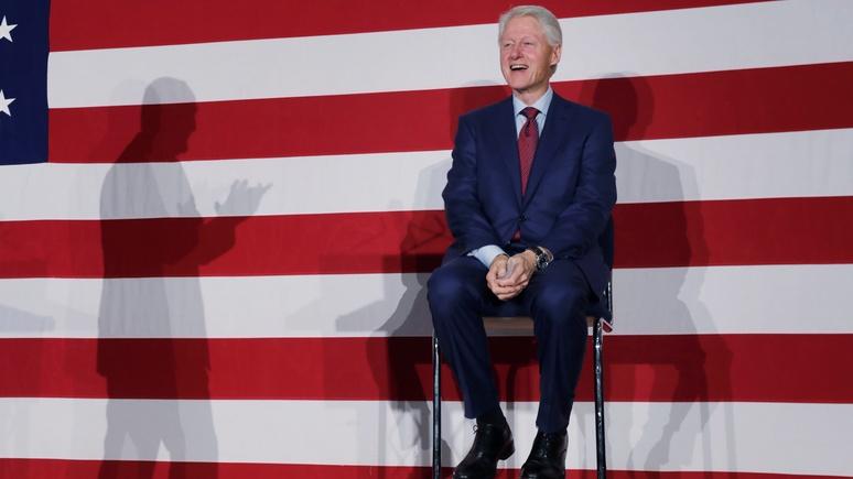 Билл Клинтон рассказал, чем Россия вызвала его гнев