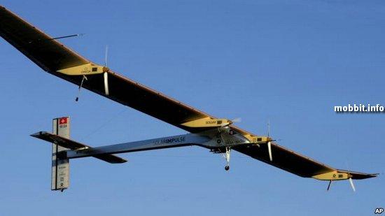 «Солнечный» аэроплан Solar Impulse готовится к трансконтинентальному перелету