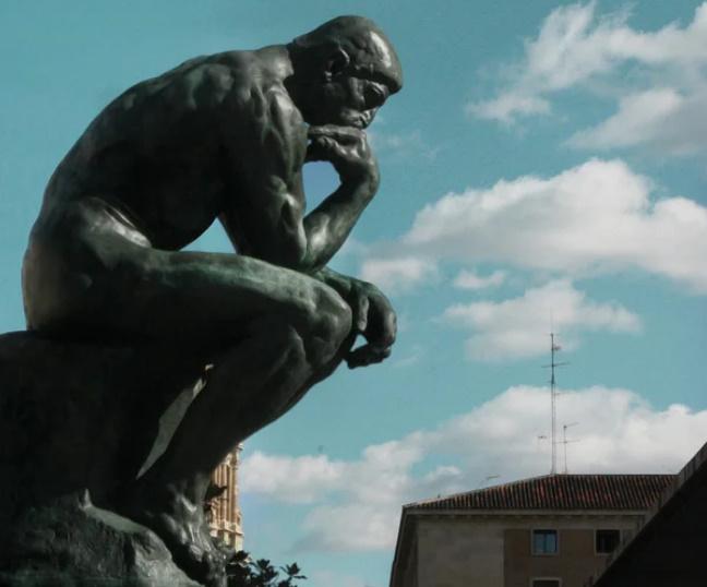 О чем на самом деле думает «Мыслитель» Родена