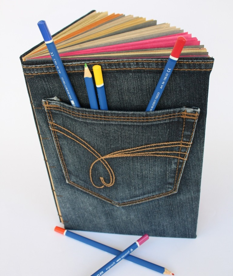 Не выкидывайте старые джинсы!