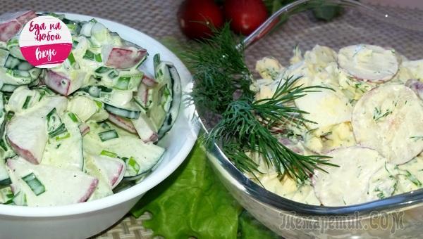 Два простых салата на каждый день, о которых мы забываем!