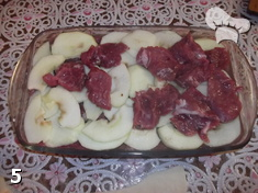 """Свинина в вине под слоеным тестом """"Чеширское мясо"""". Шаг 5"""