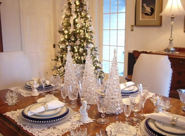 Оригинальный рождественский интерьер