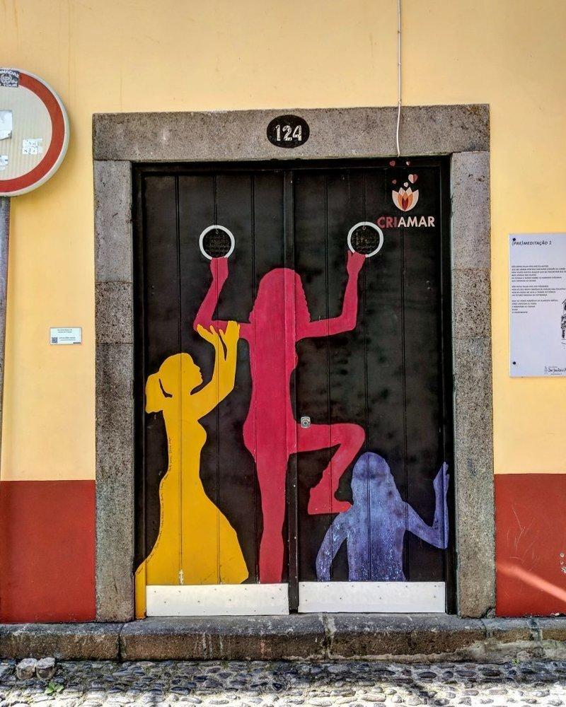 23. дверь, картина, мадейра, португалия, путешествие, фотография, фотомир