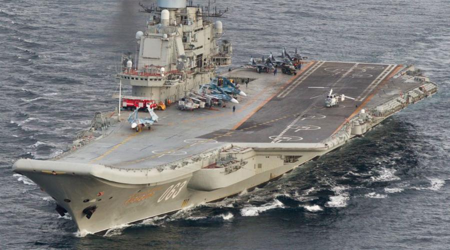 Худший авианосец мира: как устроен Адмирал Кузнецов