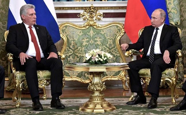 Путин иДиас-Канель подписали совместное заявление