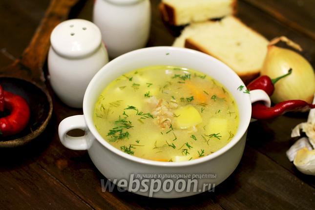 Суп овсяный в мультиварке