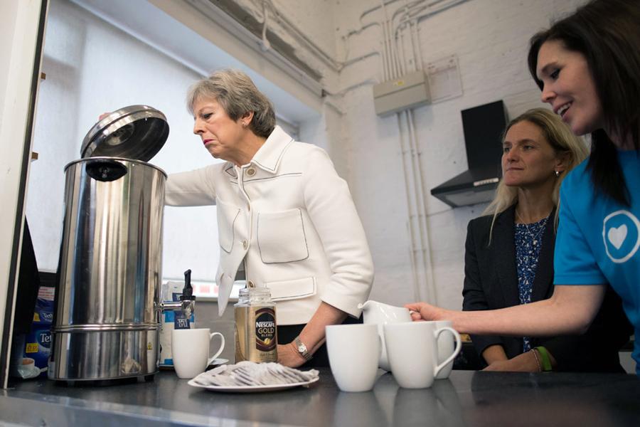 О сегодняшней британской политической кухне