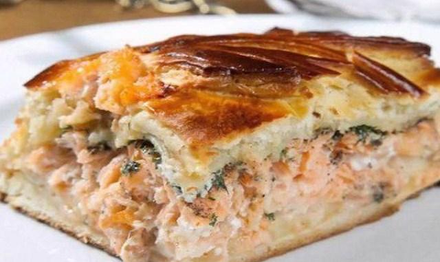 Наивкуснейший рыбный пирог за три копейки. вот это чудо-рецепт