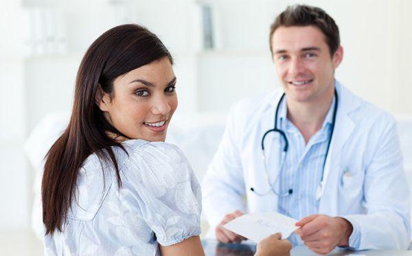 Курьезный случай на приеме у женского врача