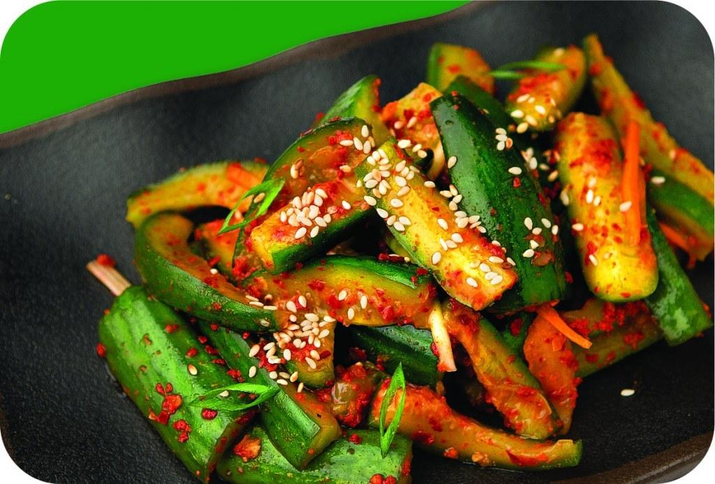 Кимчи из огурцов или огурцы по-корейски - отличная острая закуска