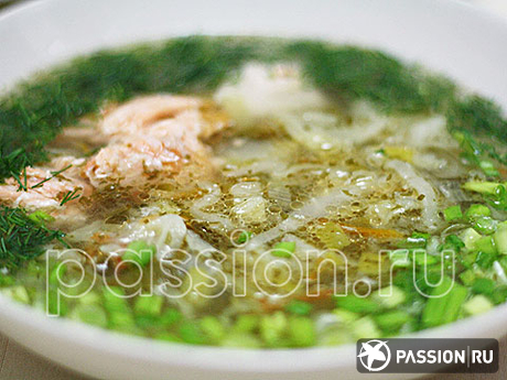 Щи рыбные с квашеной капустой