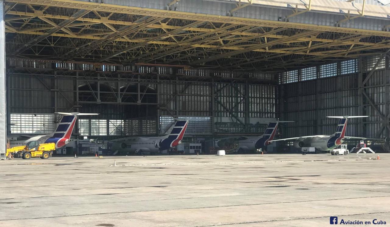На Кубе приостановлена эксплуатация всех самолетов Ан-158