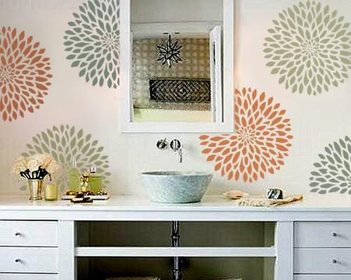 Декорируем интерьер с помощью трафаретов Original