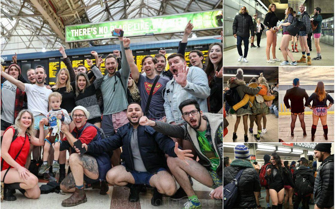 Акция «В метро без штанов 2019»