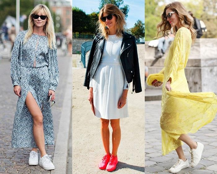 9 свежих идей, как носить платья и юбки грядущей осенью. Актуально как никогда!