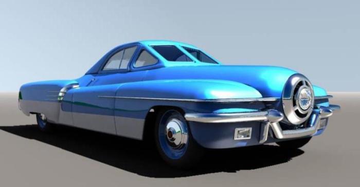 ЗИС-112 – спортивный автомобиль, построенный на базе лимузина.