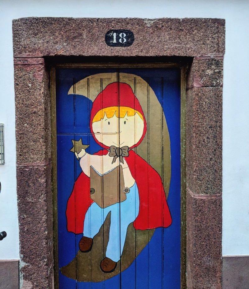 27. дверь, картина, мадейра, португалия, путешествие, фотография, фотомир