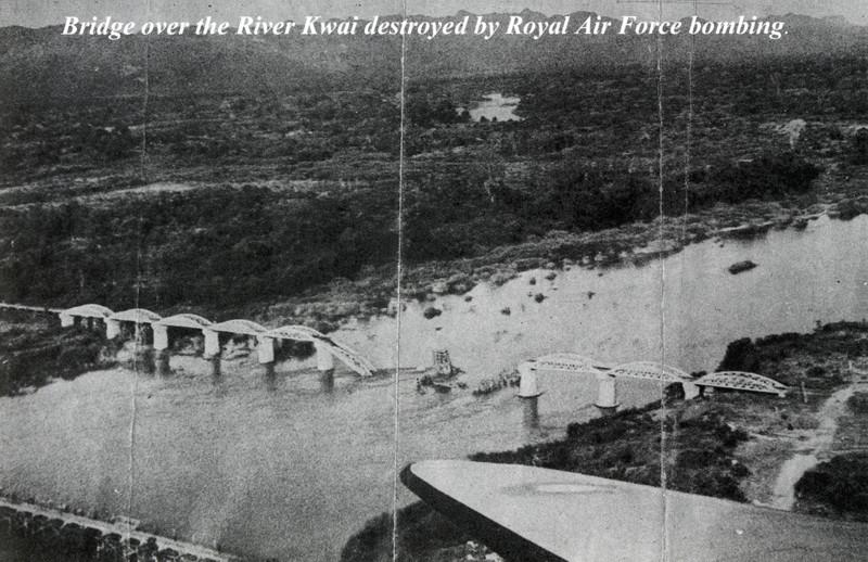 Уже в 1944 году мост был уничтожен английской авиацией. kwai, thailand, паттайя, река квай, тайланд