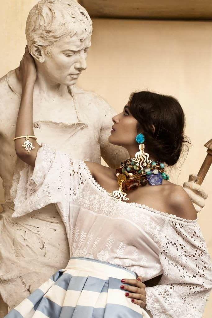 Завораживающая коллекция итальянской бижутерии Amle, или идеальная фото-легенда