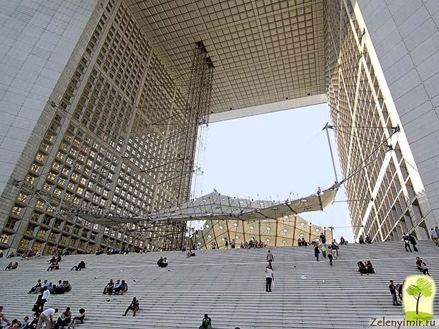 Большая арка Дефанс в Париже – современный вариант Триумфальной арки - 3