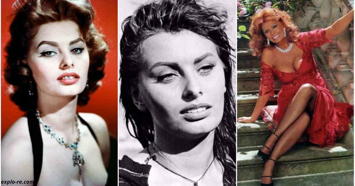 Софи Лорен — 84 и она по-прежнему прекрасна!  7 советов для женщин от актрисы