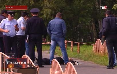 Опубликовано видеообращение напавшего на людей в Сургуте мужчины
