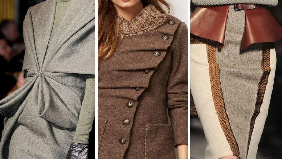 Непростые решения: оригинальная одежда сложного кроя