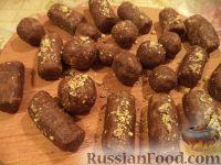 """Фото приготовления рецепта: Пирожное """"Картошка"""" на скорую руку - шаг №7"""