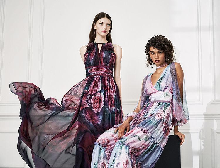 Маркиза драмы: модная коллекция Marchesa Notte осень 2019, фото № 20