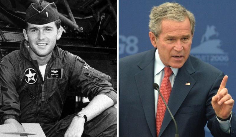 Политики в молодости: Джордж Буш-младший (фото)