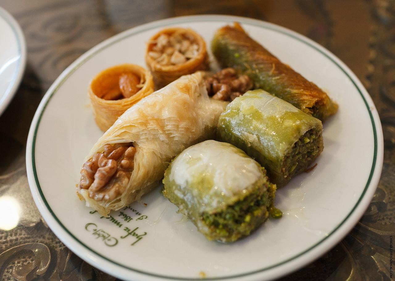 Национальное турецкое блюдо