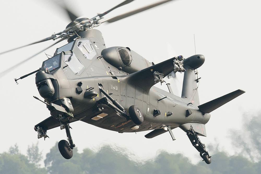 Китай оснастит ударный вертолет  Z-10 броней из графена
