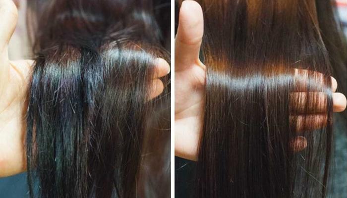 Маска для волос с голубой глиной и сливочным маслом