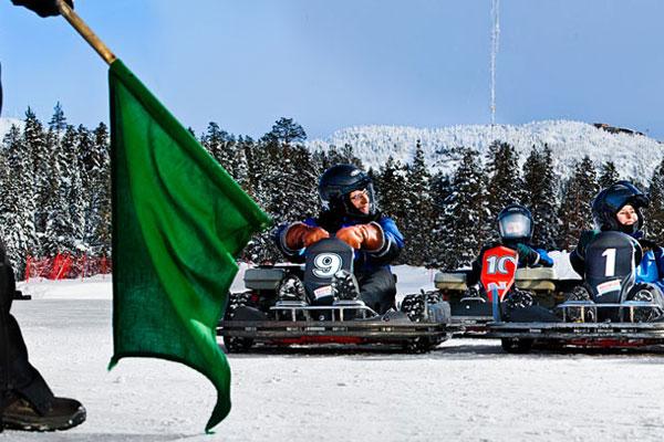 Необычные зимние виды спорта
