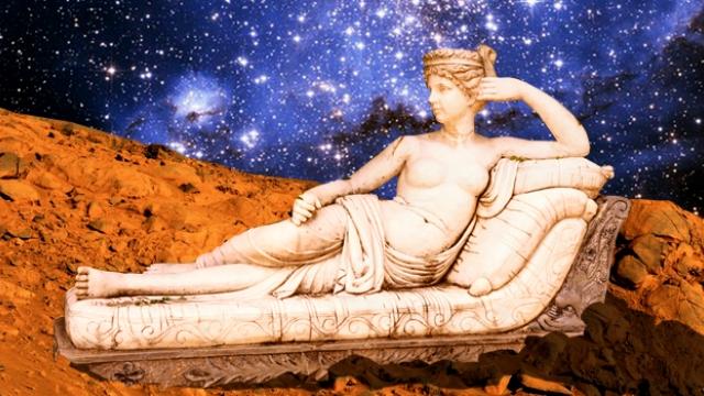 На Марсе обнаружили статую обнаженной женщины