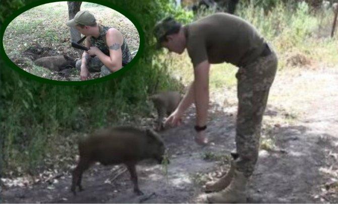 Украинские военные использую…