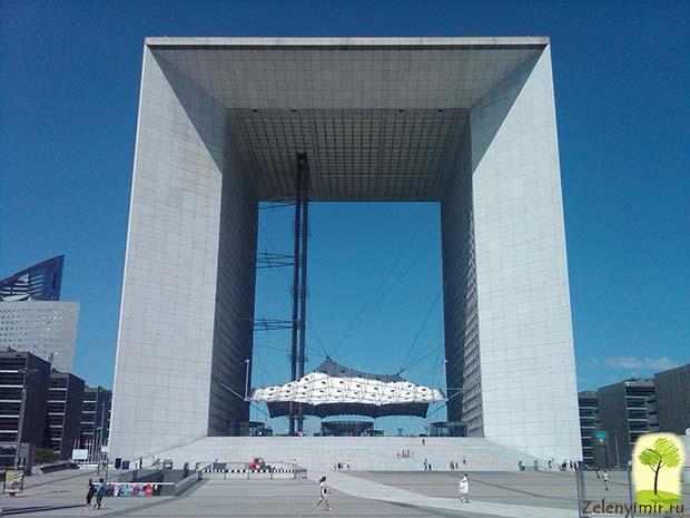 Большая арка Дефанс в Париже – современный вариант Триумфальной арки - 4