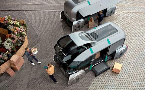 Renault показала, какой будет доставка товаров в будущем