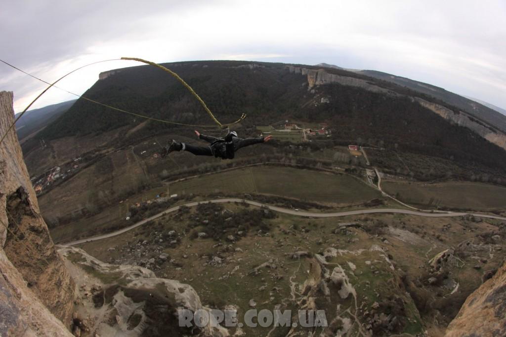 Прыжок в Качи Кальоне