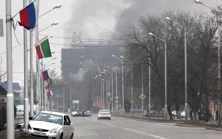 10 силовиков погибли до 20 ранены в ходе спецоперации в Грозном
