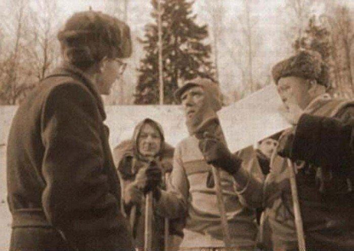«Самогонщики» - одна из первых советских комедий, 1962 год актеры, кадр, кино, люди, фильм, фото