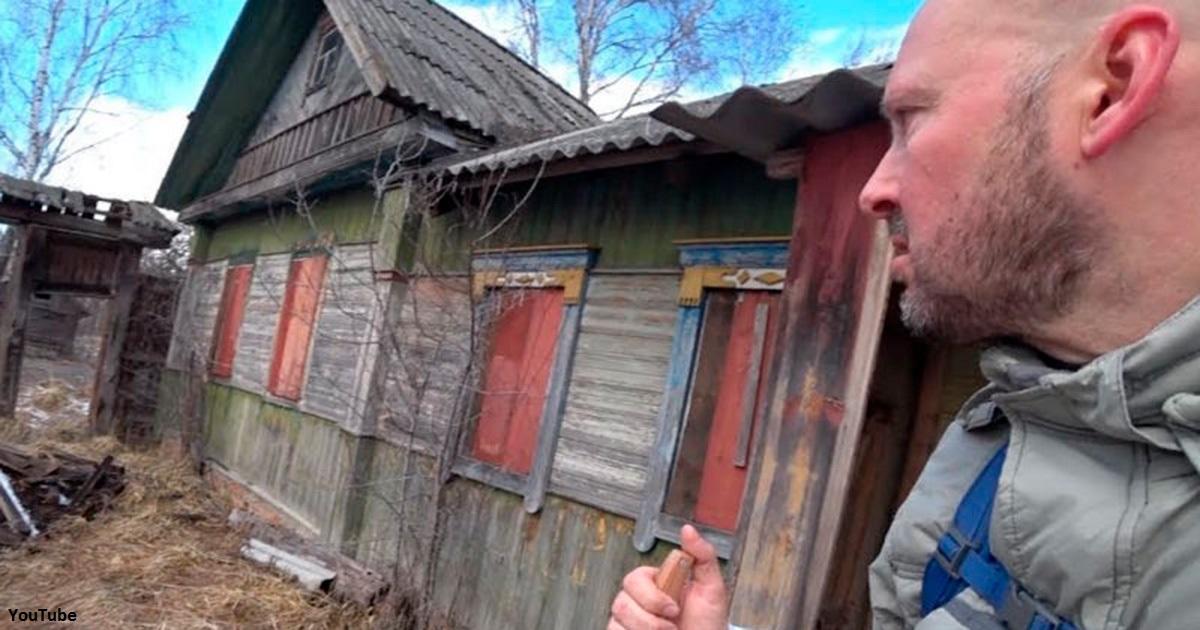 Он пробрался в запретную зону Чернобыля - и нашел там 92-летнюю бабушку с сыном